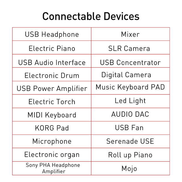 dyplay for Lightning to USB Adapter Converter OTG Cable for iPhone 7 iPad iOS 11 Piano Microphone Keyboard Audio Interface Mixer