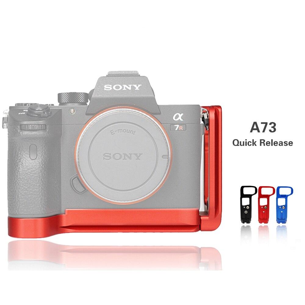 A7M3 attache rapide L plaque/support support poignée pour Sony A7III/A7RIII/A9 plaque de base à dégagement rapide et plaque latérale