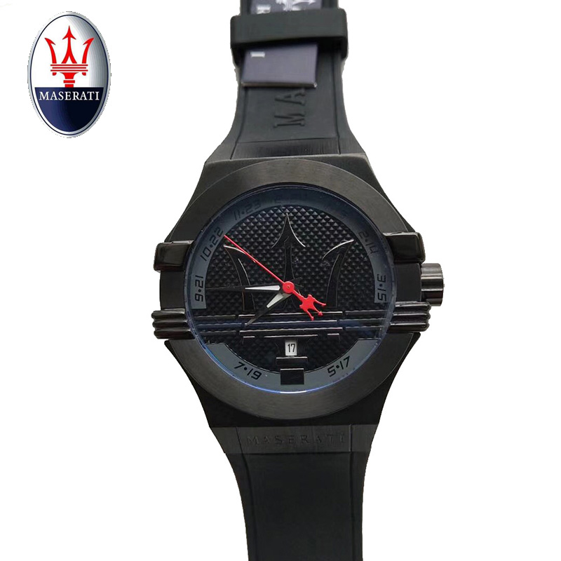 Maserati Top Luxury Brand men's quartz watch business watch men's waterproof casual fashion watch часы maserati