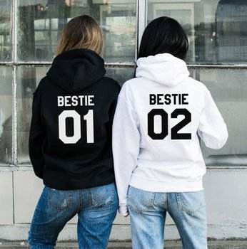 Sugarbaby Bestie 01 02 Hoodies Bff Gift Women Fashion Hoodie Best Friend High quality Tops