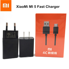 Original XiaoMi Fast Charger For Mi 4 4s 5 5s plus note 2 mix redmi 3 3s note 2 3 4 4A QC3.0 USB Wall Quick Charge Adapter