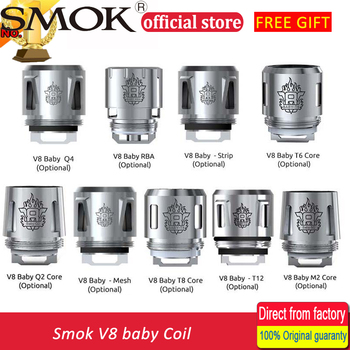 Smok TFV8 Baby Coil Head V8 Baby-T8 V8 Baby-T6 V8 Baby-X4 V8 Baby-Q2 Core For TFV8 BABY Beast Tank Electronic Cigarette Atomizer Cores
