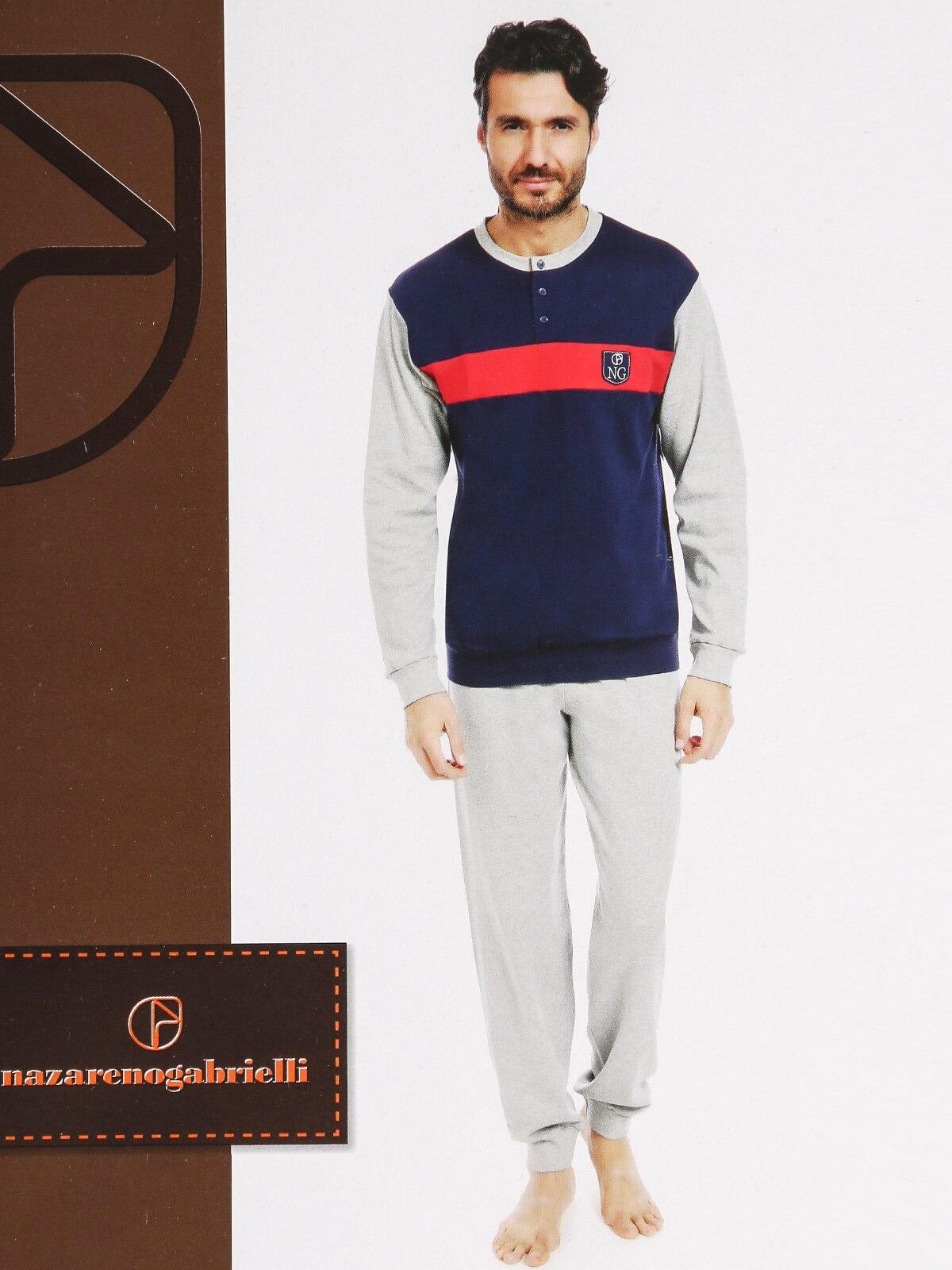 Pajamas Long Warm Cotton