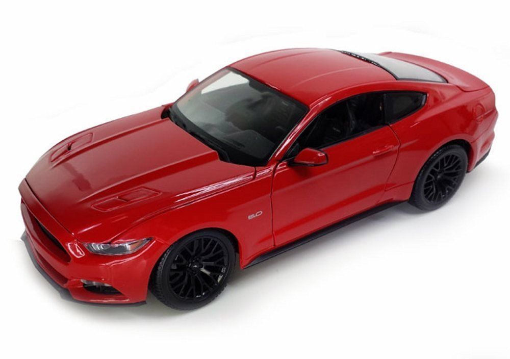 Maisto 1 18 2015 Ford Mustang GT Diecast Model Sports Racing Car Vehicle NEW IN BOX