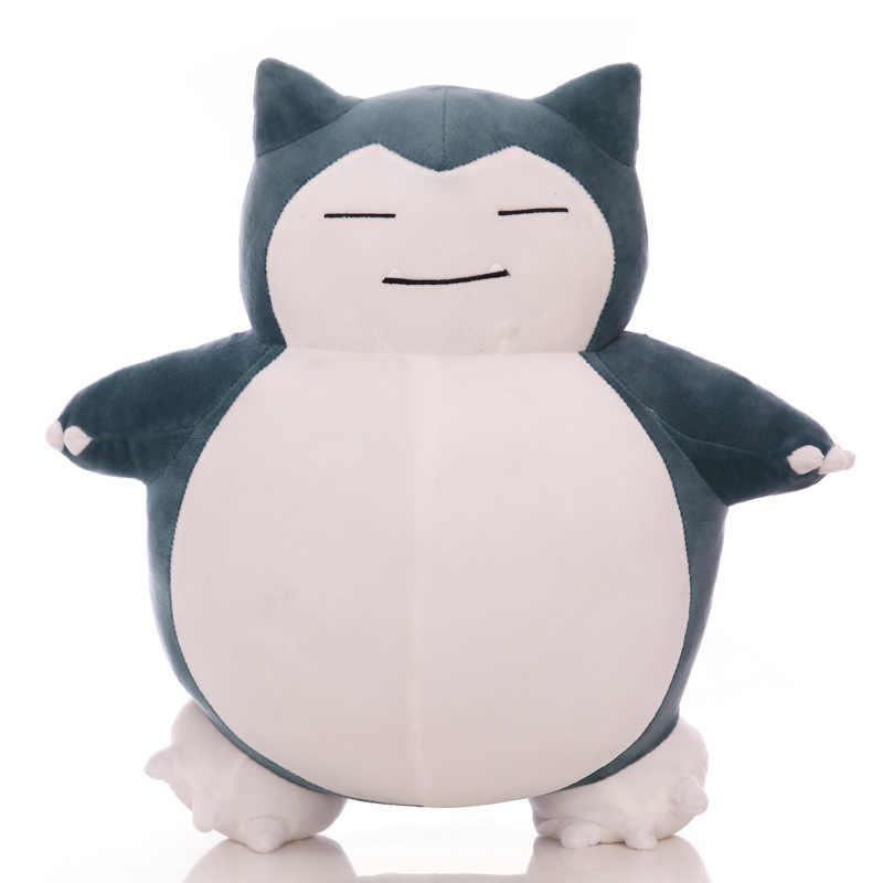 Милые большие снорлакс аниме плюшевые игрушки мультфильм японский мягкий Большой подушка чучело кукла подарок для детей дропшиппинг
