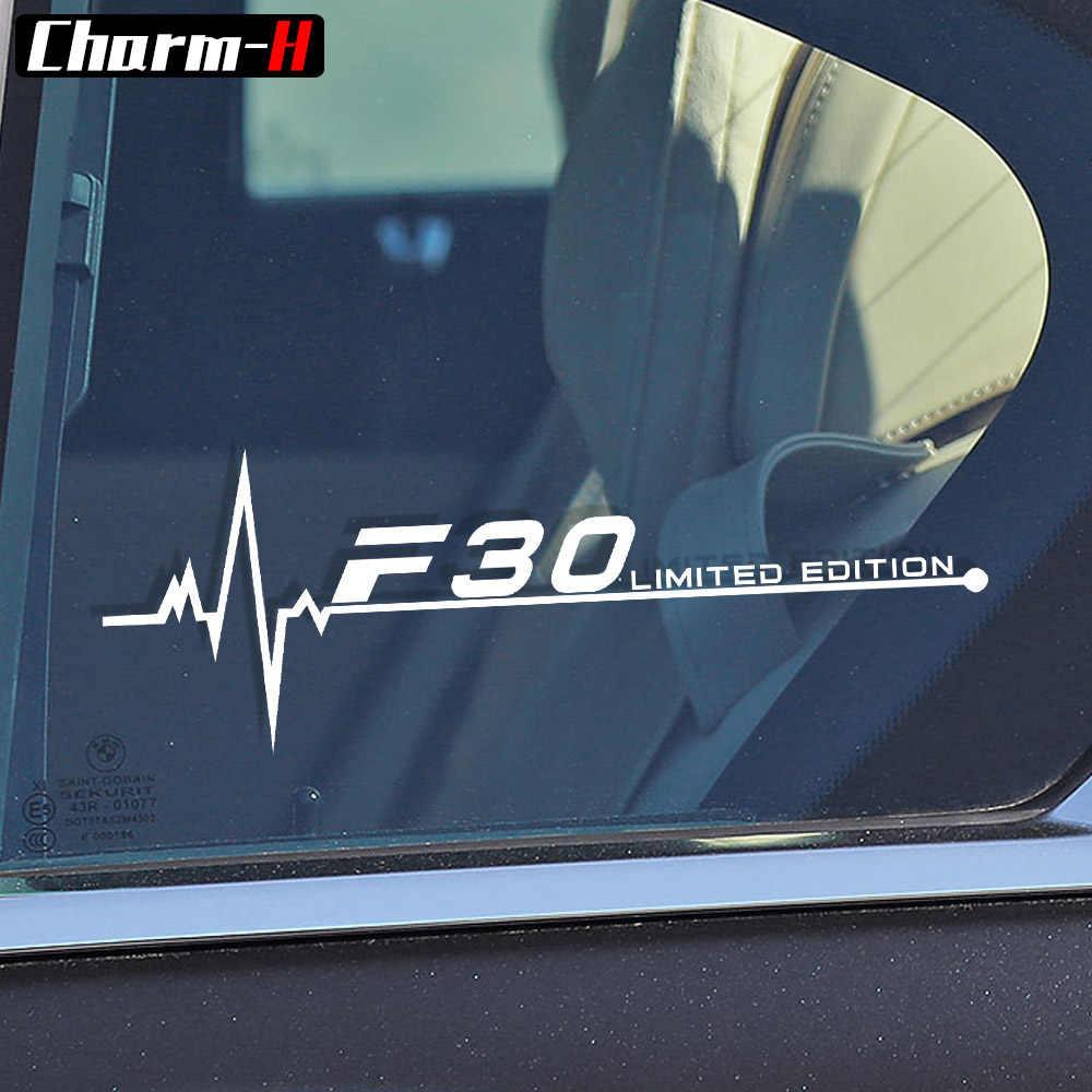 カースタイリング反射窓デカールステッカー用bmw f10 f20 f30 f31 f25 f07 f34 f48 f46 f82 f85 f87 f45 f15 f16 f01アクセサリー