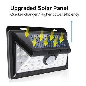 Image 2 - 34 LED Solar Light Motion Sensor Solar Powered Night Security Wall Lamp Waterproof Garden Light for Patio Lawn Garden Corridor