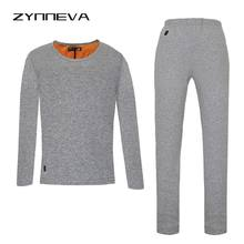 ZYNNEVA New Men Heating Skiing Underwear Set Long Sleeves Thermal Coats Carbon Fiber Lining Heated Shirts Winter Pants GC4101