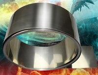 0.15mm x 100mm 99.96% Pure Nickel Plate Strap Strip Sheets pure nikkel voor Batterij elektrode Puntlassen Machine 18650 nikkel