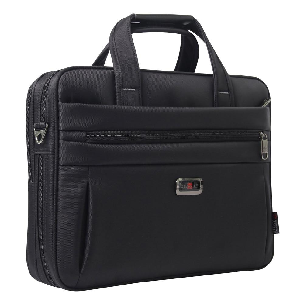 все цены на Oxford cloth Business Briefcase Large Capacity Water-repellent Computer bags Leisure Travel Document Bag men's shoulder portable онлайн