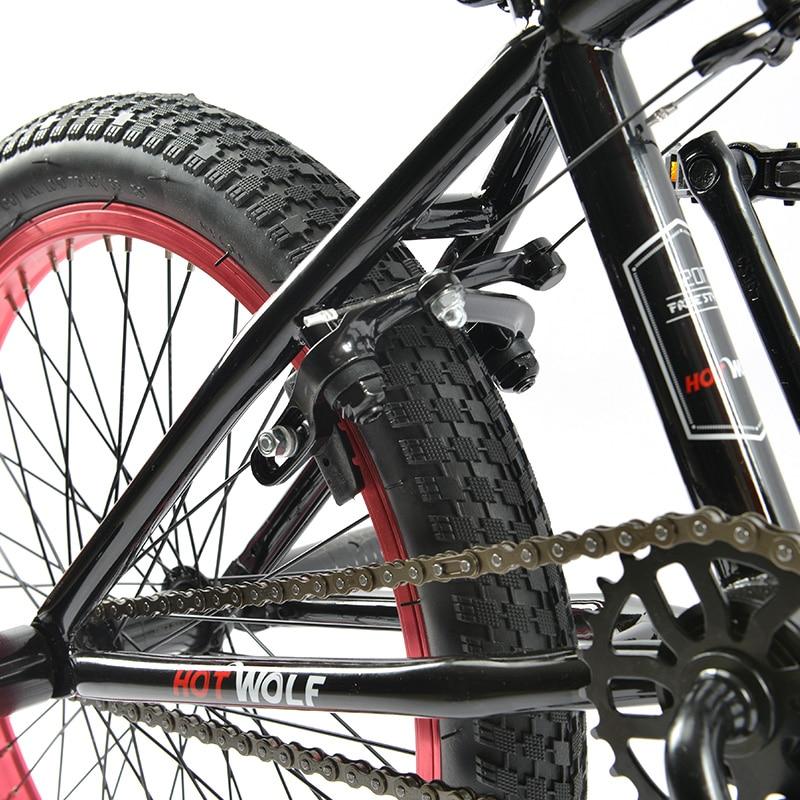 20 pulgadas BMX marco de acero bicicleta Performance bike púrpura ...