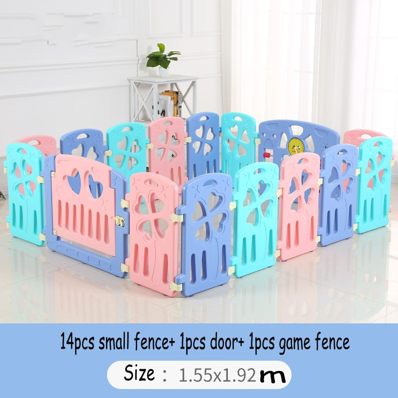 Safe Baby Infant Learn Walking Crawling Fence Protection Indoor Game Play Fence For Baby Toddler Kids цена 2017