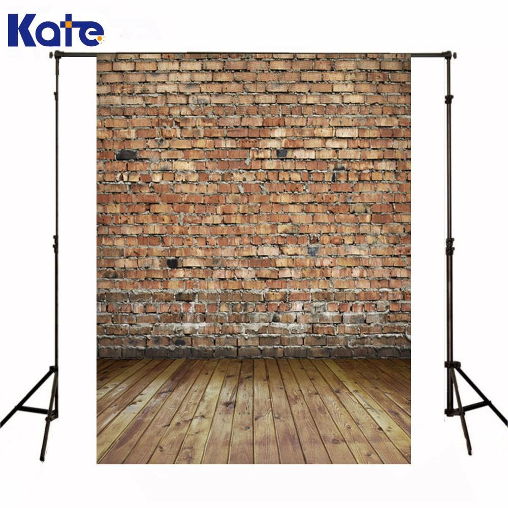 Kate Newborn Baby Background Photo Red Brick Wall Fond De Studio Photocall Wooden Floor Photography Photodrops For Photo Studio  недорого