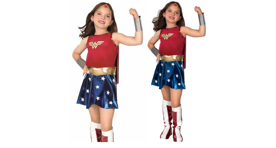 New Child Super Girl Costume Kids Wonder Woman Kid Cosplay Costume Party Fancy Dress Outfit Child Uniform Suit
