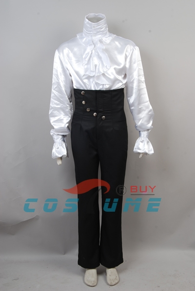 Prince Purple Rain Cosplay Costume Whole Set Halloween Set 5