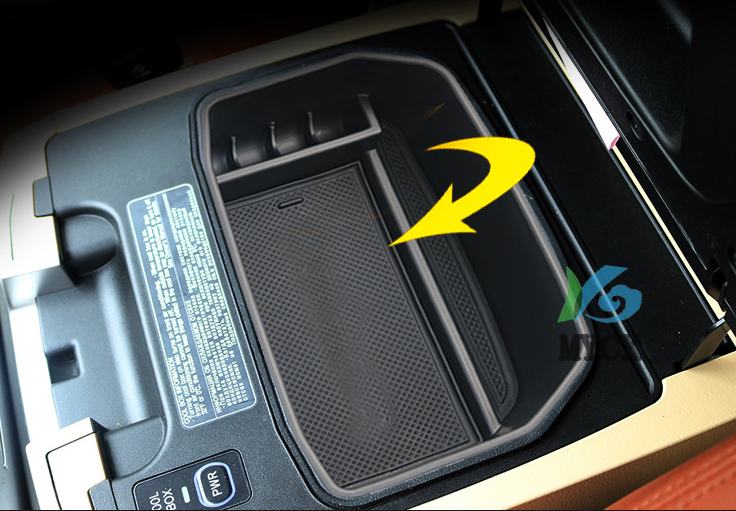 Interior Console Central Armrest Glove Storage font b Box b font Container Tray Car Organizer For