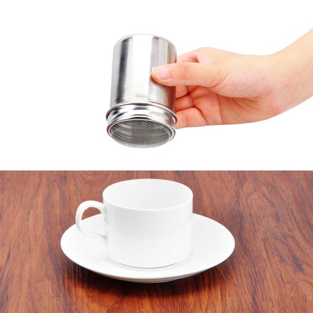 New Stainless Chocolate Shaker