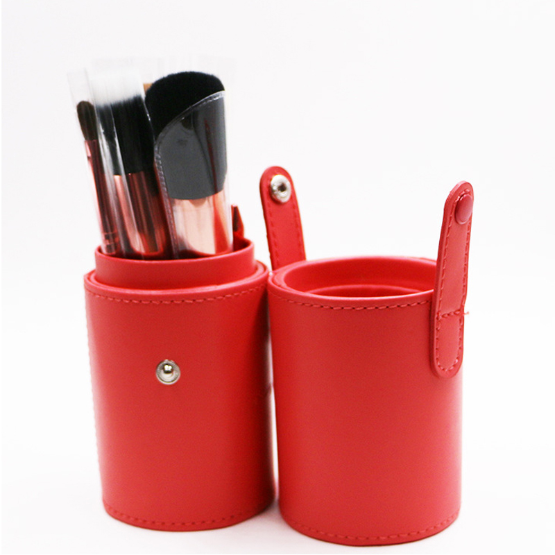4 colors 12pcs Cosmetic Brushes Professional Portable makeup brushes make up brushes Set Kit Makeup Tools with Cup holder Case
