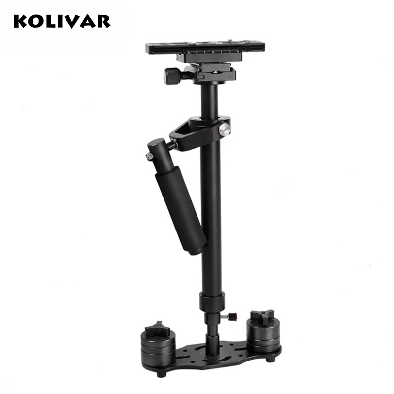 KOLIVAR S60 60cm Video Stabilizer Handheld DSLR Camera Steadicam Steady for Camera Video DV DSLR Nikon Canon Sony Panasonic portable 2 axis handheld stabilizer video gimbal steadicam steady for dslr camera dv bmpcc