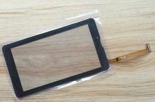 Negro Nueva 7 pulgadas Tablet PC de Pantalla Táctil Digitalizador para Irbis TZ761 Digitalizador Del Sensor de Reemplazo Del Panel