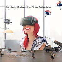 VIULUX V1 VR Headset Virtual Reality 3D Bril Video Game Movie 1080 P 5.5
