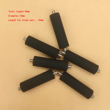 20pcs Large format printer rubber paper pinch roller Xuli Human  Allwin Myjet Dika Yaselan Konica 512 part