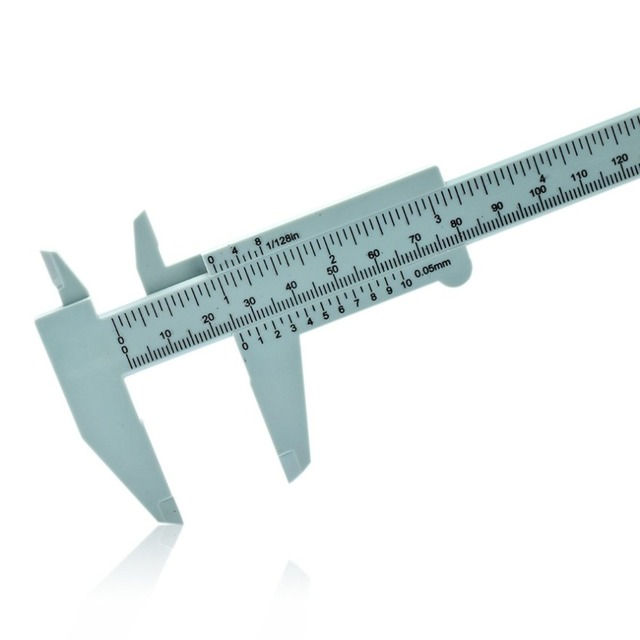 Plastic vernier caliper 150MM plastic caliper Vernier caliper Mini caliper Tattoo supplies 1