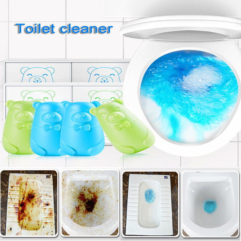 1PC=80PCS Multifunctional Effervescent Spray Cleaner Home Cleaning Bathroom Toilet Fragrance Accessories New Toilet Cleaner