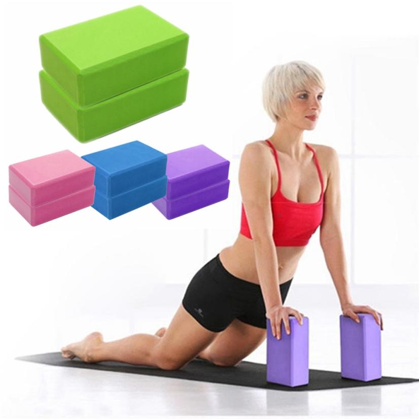 Yoga Blocks Target: 1PC Single Rectangle Cushion Exercise Fitness Yoga Blocks
