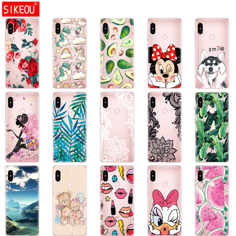 silicon case For 5.99 inch Xiaomi Redmi Note 5 global Case back Cover redmi note 5 Snapdragon 636 version hongmi note 5 case Tpu