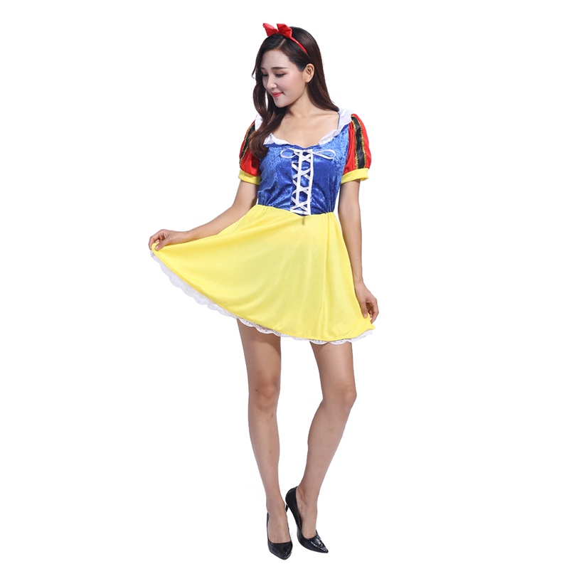 AliExpress new 2016 Halloween costumes for adults Dlancanieve dress stage costumes masquerade cosplay costume