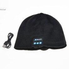 Спорт Мягкий Теплый Вязаные Шапки Беспроводная Bluetooth-гарнитура Наушники High-tech Smart Cap Hat Для Мальчиков Девочек 10