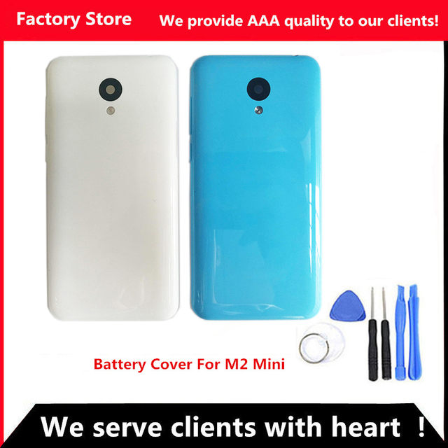 Q&Y QYJOY 5 inch Battery Cover For Meizu M2 MINI Battery Back Cover Door Case housing Sim Stray Camera Lens+ Buttons