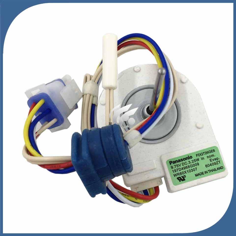 US $34 5 25% OFF|new Good working for refrigerator ventilation fan motor  197D4968G009 FDQT26GE6 FDQT26GE8 reverse rotary motor-in Refrigerator Parts