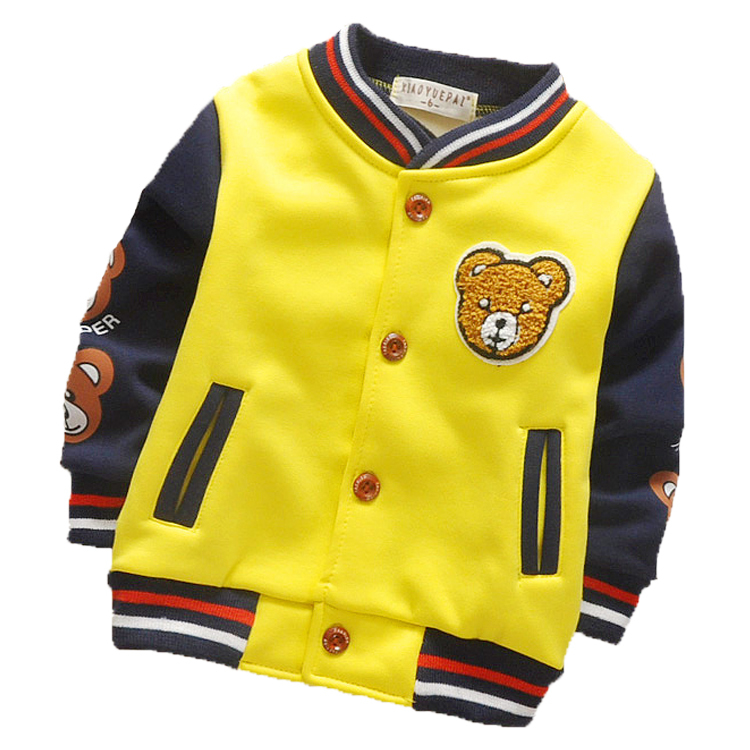2017 Autumn Winter Children's Clothing New Large Children Zipper Baseball Boys And Girls Plus Cashmere Cotton Jacket Sportswear