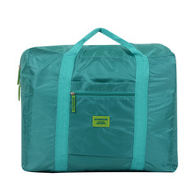 Foreign trade waterproof nylon foldable travel storgage Bag Mens WOMENS luggage clothes organizing storage bag