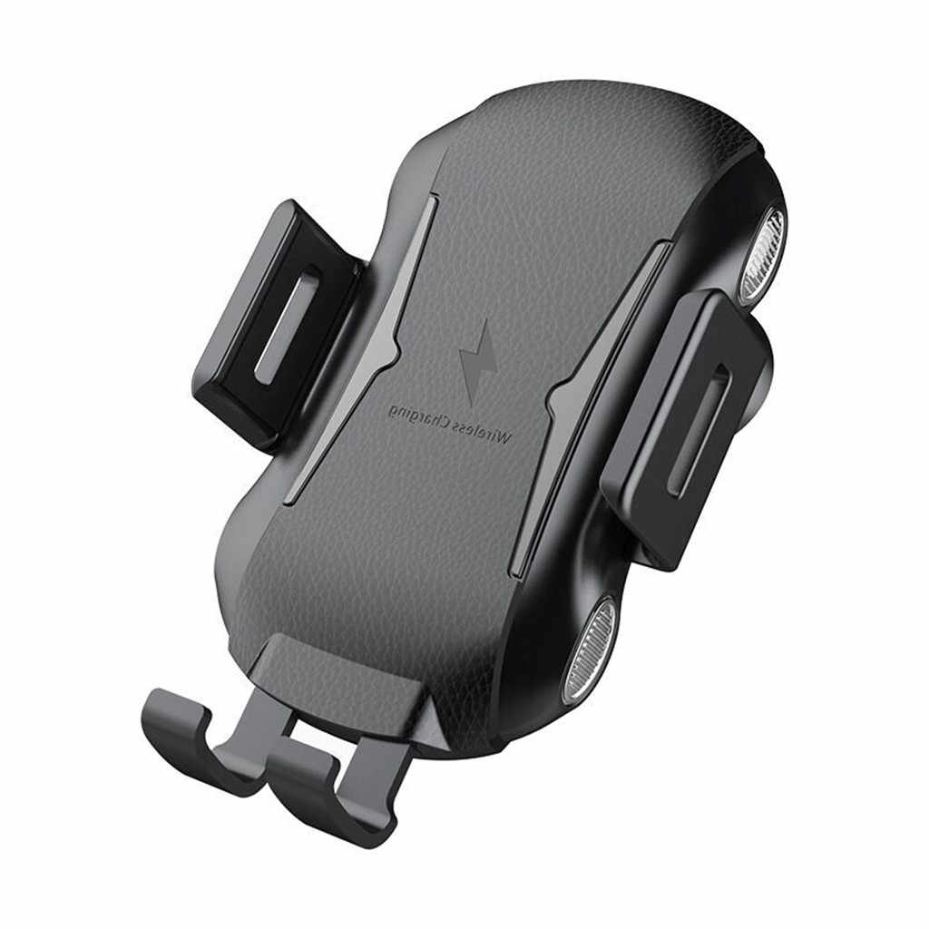 Air Vent da Auto Caricatore Automatico di Bloccaggio Qi Wireless di Ricarica Del Supporto Per Apple iPhone 8 per Samsung Galaxy S10 # LR4