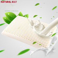 2017 Hot Sale High Quality Natural Latex Pillows Neck Care Memory Latex Cervical Orthopedic Travel Sleeping