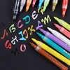 DIY работает на большинстве поверхностей акриловая Перманентная Краска Маркер ручка для керамического камня стеклянная фарфоровая кружка д...