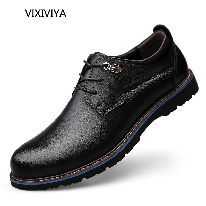 2018 новий чоловічий взуття натуральна - Чоловіче взуття