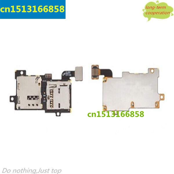 OEM SIM Card and Memory SD Card Contact Holder Flex Cable for Samsung Galaxy S3 S III SGH-i9305
