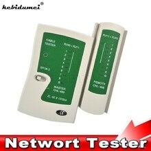 Kebidumei Профессиональный сетевой кабель тестовый er RJ45 RJ11 RJ12 CAT5 UTP LAN кабель тест er детектор дистанционного тестирования Инструменты сетевое оборудование