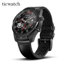 Ticwatch Pro Bluetooth Смарт-часы IP68 Водонепроницаемый поддержка nfc-платежей/Google Assistant одежда OS & nbsp; Google спортивные Смарт-часы