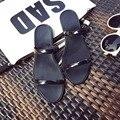 O novo 2017 estilo quente de verão sapatos de cristal da geléia chinelos sapatos sandálias de praia de plástico