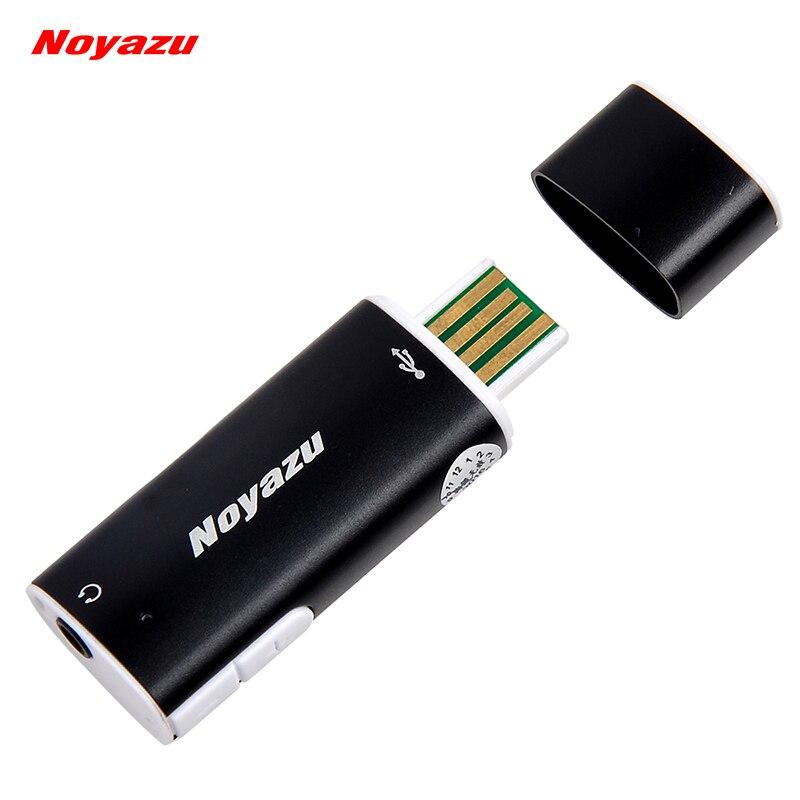 NOYAZU V17 Plus Petit Professionnel Enregistreur Vocal 8G Mini Dictaphone USB Numérique Audio Voix Activé Enregistreur Lecteur MP3
