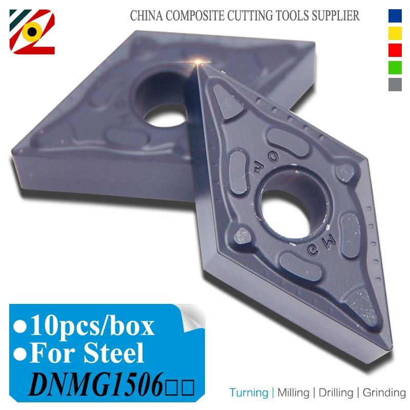 Inserti in metallo duro CNC DNMG150604 DNMG150608 DNMG150612 DNMG441 DNMG442 DNMG Tornio per utensili da tornio Lama in tungsteno per acciaio