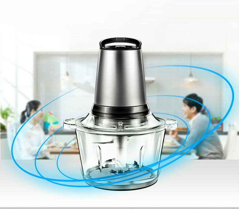 Meat Grinders Grinder Home Electric Stainless Steel Multi-function Small Stirring Mincer NEW