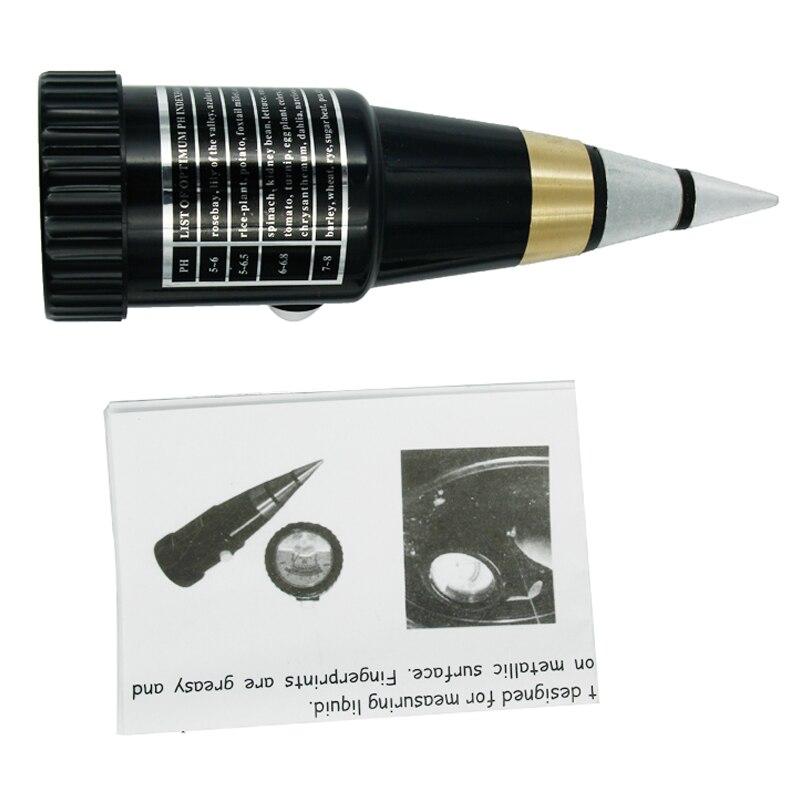 hot sales handheld DIgital pointer display soil moisture PH meter PH range 3~8ph, moister range 10~80% 17% off soil ph