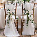 MEIDDING-0.75*10M Sheer Crystal Organza Tulle Roll Wedding Background Gift Baby Shower Birthday/christmas/New Year Party Decor