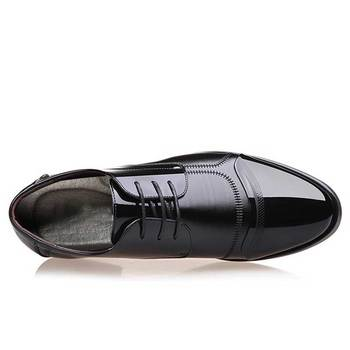 Breathable Rubber Formal Dress Shoes Male Office Wedding Flats Footwear 10